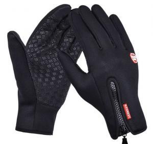 Vattentåliga Touch-handskar svarta 1 par