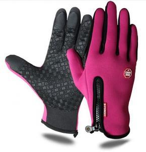 Vattentåliga Touch-handskar Rosa 1 par