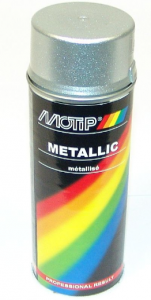 Sprayfärg Silver metallic 400ml Motip