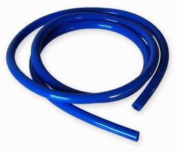 Bensinslang blå 1 meter