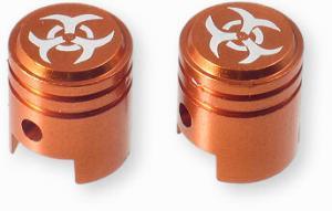 Ventilhattar kolv orange 1 par Universal