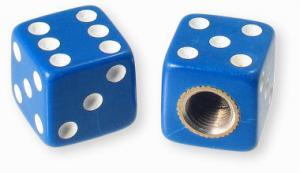 Ventilhatt tärning blå 1 par Universal