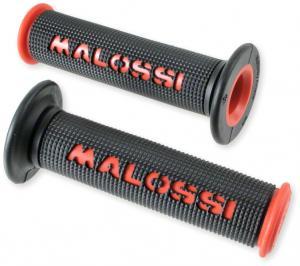Handtag Malossi röd/svart 22/24 1 par Universal