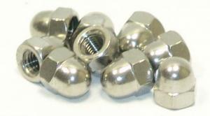 Kupolmutter M8 rostfri DIN1587