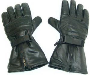 Varmfodrad läder handske 21bd4e1c1be0b