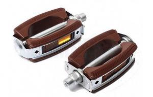 Pedaler bruna med reflex Universal 1 par