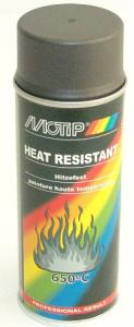 Sprayfärg Grå värmetålig 400ml Motip
