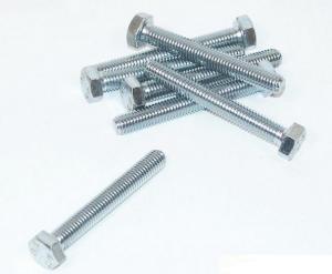 Bult M8x60mm helgängad DIN933
