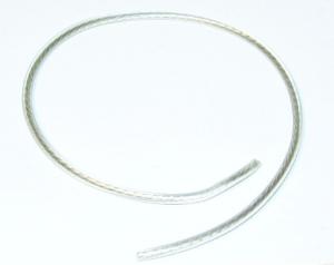 Tändkabel transparent 5mm 50cm