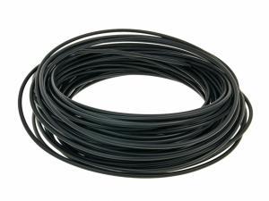 Vajerhölje svart för 1,25mm vajer YD 4,0mm