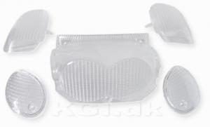 Blinkers & Baklyktsglas vit Yamaha Neos