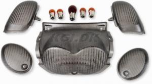 Blinkers & baklyktsglas Carbon Yamaha Neos 2T