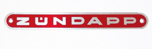 Emblem rött dyna Zundapp