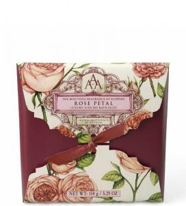 Bath Salts Sachet Rose Petal 150g