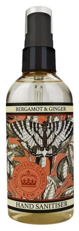 Hand Sanitiser spray Bergamot & Ginger 100ml