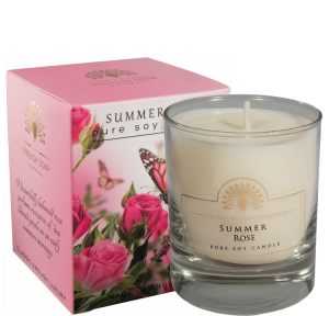 Pure Soya Candle 170 g Summer Rose