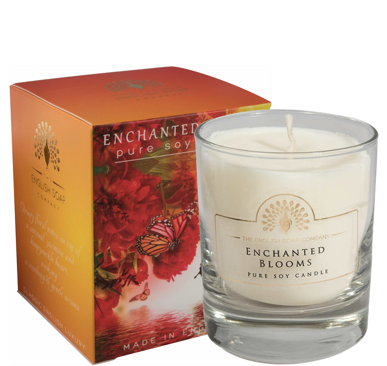 Pure Soya Candle 170 g Enchanted Blooms