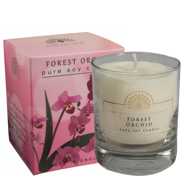 Pure Soya Candle 170 g Forest Orchid
