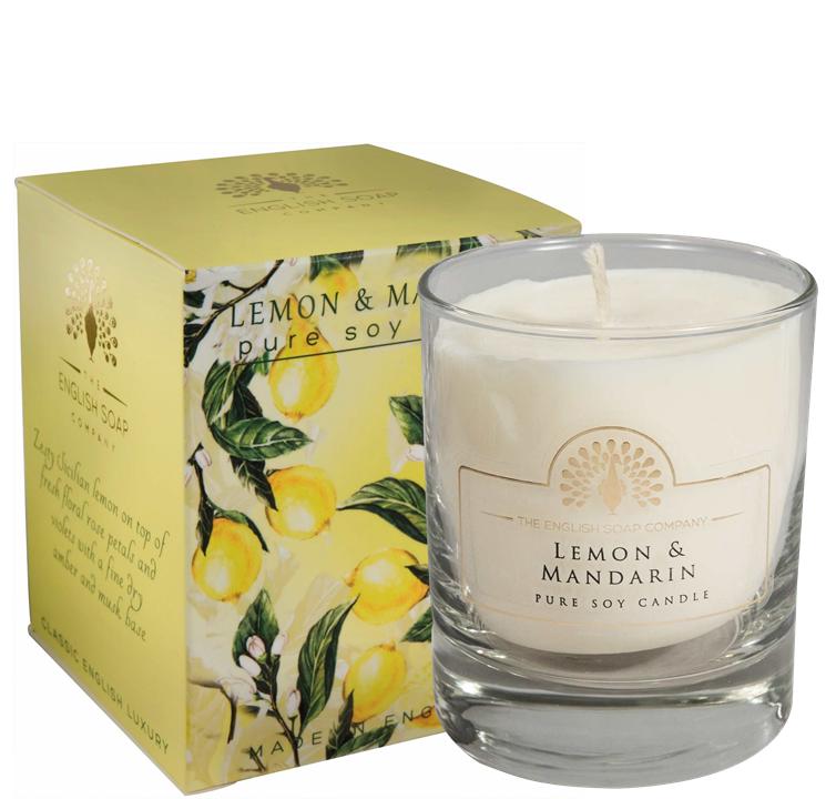 Pure Soya Candle 170 g Lemon & Mandarine