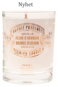 Scented Candle Orange Blossom 180 gr