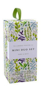 Floral Soap & Hand Cream set Fern & Moss