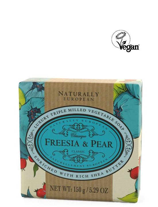 Wrapped Soap Fresia & Pear 150g