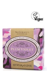 Wrapped Soap Plum Violet150g