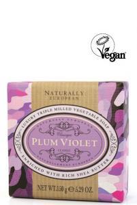 Wrapped Soap Plum Violet150g