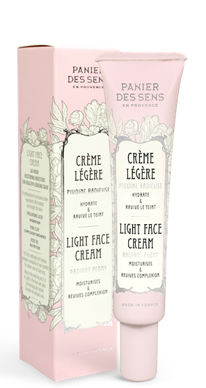 Light Face Cream Peony 40ml