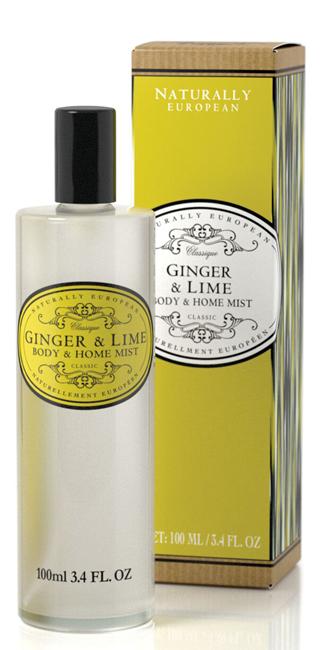Body & Home Mist Ginger & Lime 100ml