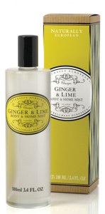 Body & Home Mist Ginger & Lime 100ml