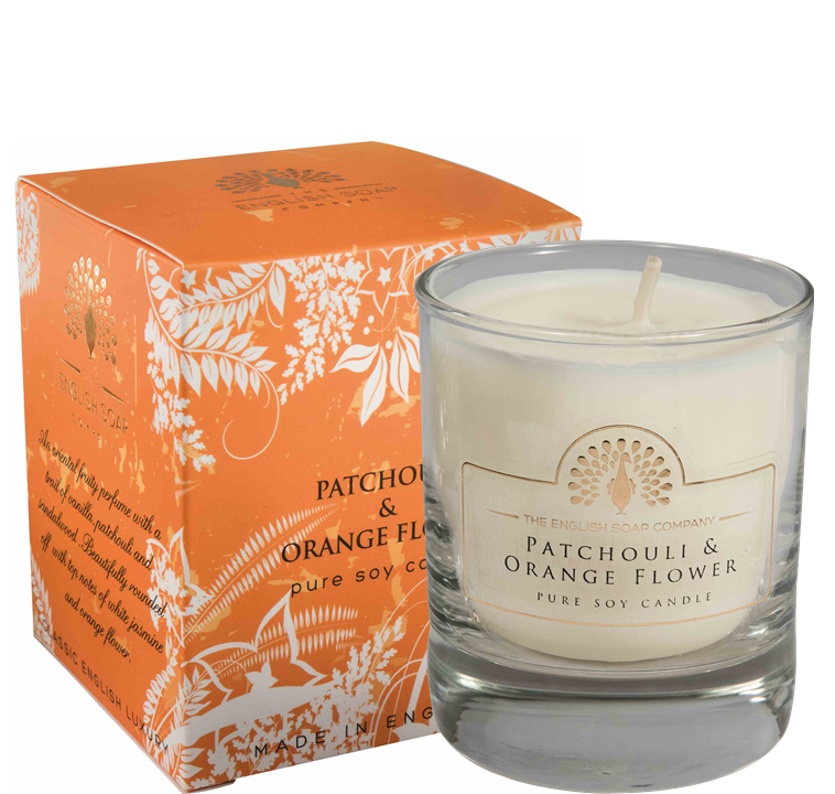 Pure Soya Candle 170 g Pathouli & Orange Flower