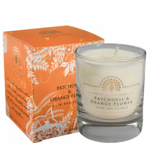 Pure Soya Candle 170 g Pathouli & Orange Flower