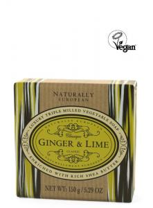 Wrapped Soap Ginger & Lime150g