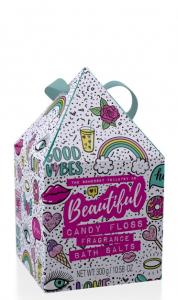 Beautifil Bath Salt Candy Floss