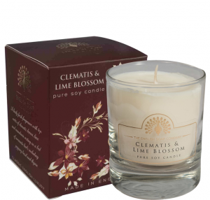 Pure Soya Candle 170 g Clematis & Lime Blossom