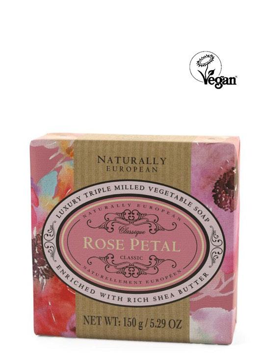 Wrapped Soap Rose Petal150g