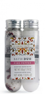 Bath Salt & Soak Pink Pepper ( 50g salt, 40 ml soak)