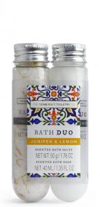 Bath Salt & Soak Juniper & Lemon ( 50g salt, 40 ml soak)