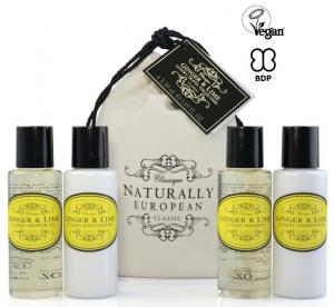 Travel Set Ginger & Lime