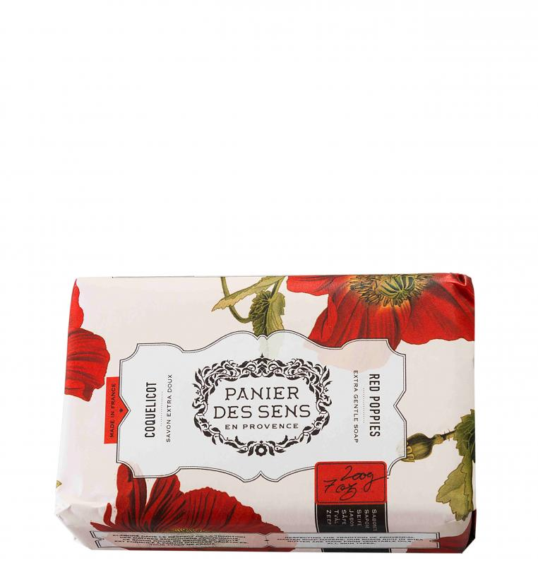 Soap Red Poppies 200gr