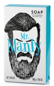 MR Manly Wrapped Soap 200gr