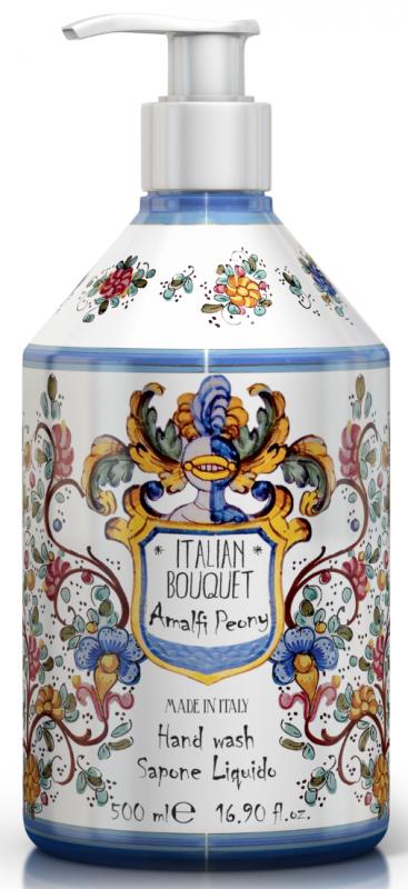 Maioloche Liquid Soap Amalfi Peony 500ml