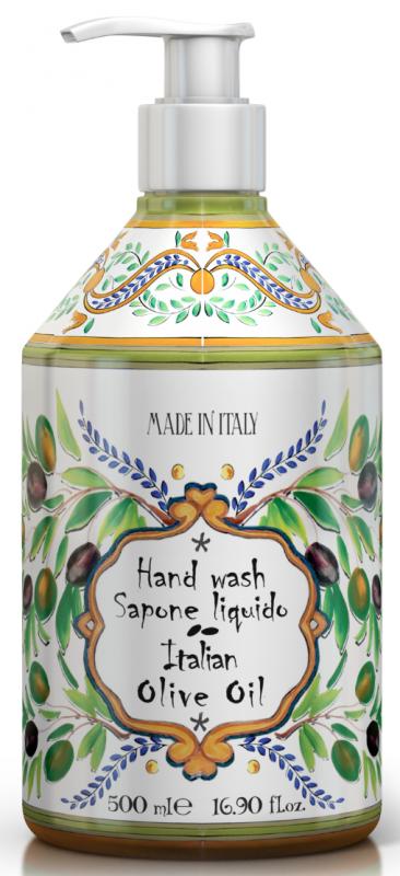 Maioloche Liquid Soap Tuscan Olive Oil 500ml
