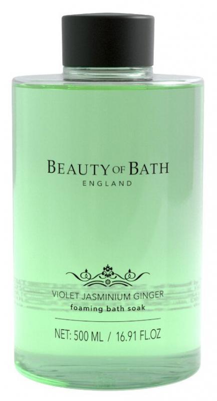 Foaming bath Soak Violrt Jasminium Ginger 500ml