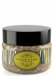 Bath Soak Salts Ginger & Lime 550g