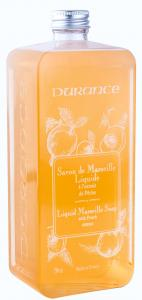 Refill Marseille Soap Peach Basil 750ml
