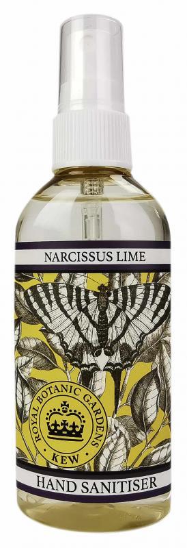 Hand Sanitiser spray Narcissus & Lime 100ml