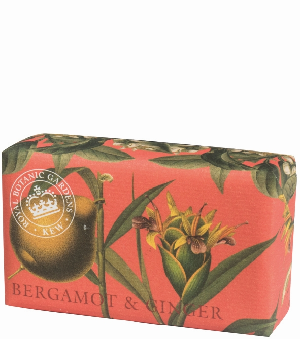 Bergamot & Ginger Luxury Shea Butter Soap 240gr