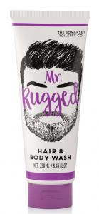 MR Hair & Body wash Mr Rugged Cedarwood & Lemongrass 250ml